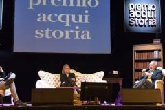 Gad Lerner , Laura Gnocchi e Danilo Poggio