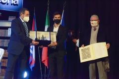 Mighetti e Cassina premiano Pezzino