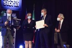 Terzolo, Rossi e Rossini premiano Gad Lerner